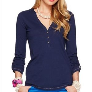 XS Lilly Pulitzer Navy Janelle Henley